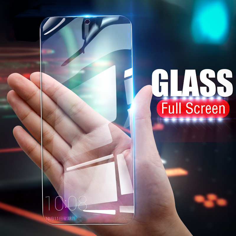 9H Tempered Glass For Samsung Galaxy A50 Glass A70 M20 M30 A10 M10 A7 2018 A750 Screen Protector A80 A90 A30 A20 Full Cover Film