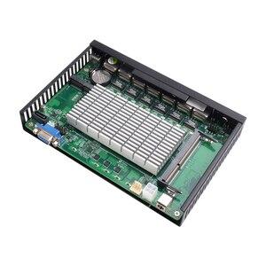 Image 5 - Intel Celeron 1037U güvenlik duvarı cihazı 6 LAN Intel i211AT Gigabit Ethernet RJ45 VGA 2xUSB 3.0 Pfsense yönlendirici Mini PC