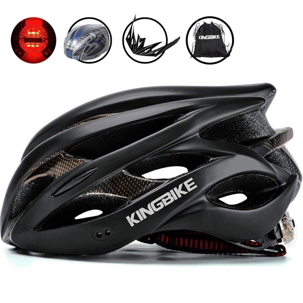 Radfahren Helm Hinten Licht MTB Fahrrad Helm Tragbare Rucksack Ultraleicht Fahrrad Abnehmbare Visier Für Männer Frauen casco ciclismo