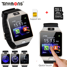 2017 Original Bluetooth DZ09 Smart Watch Call/SMS SIM Card Camera Intelligent Wrist Phone Watches For Android Wear Smartwatch