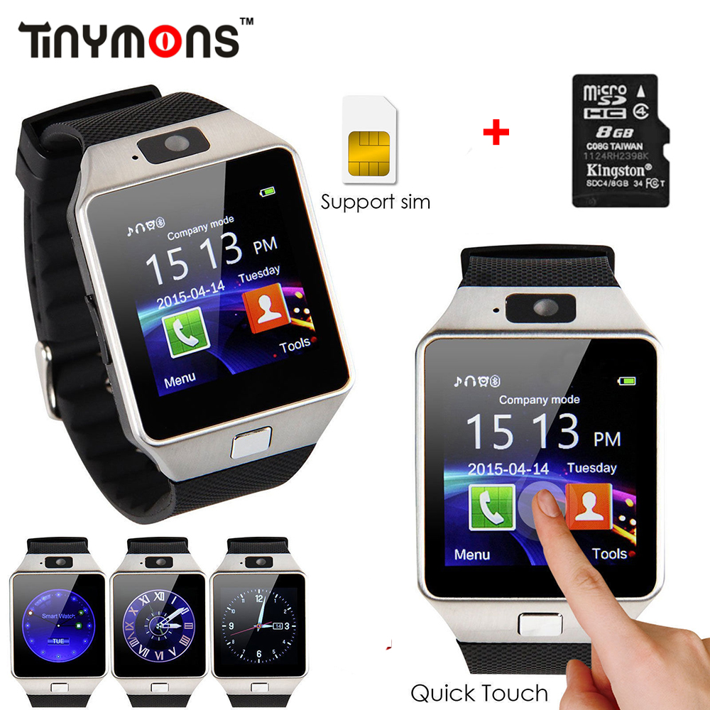 2017 Original Bluetooth DZ09 Smart Watch Call/SMS SIM Card