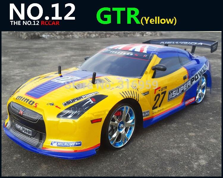 Large 1:10 RC Car High Speed Racing Car 2.4G Z4/M6 ...