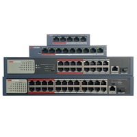 Hik DS-3E0105P-E/M  DS-3E0109P-E/M  DS-3E0318P-E/M  DS-3E0326P-E/M Economic PoE LAN Switch, Network Switch Transmission & Cables
