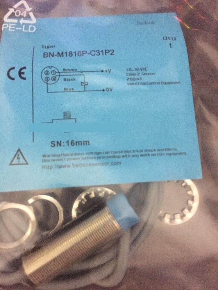 ФОТО New Germany original Bedook Proximity switch BN-M1816P-C31P2