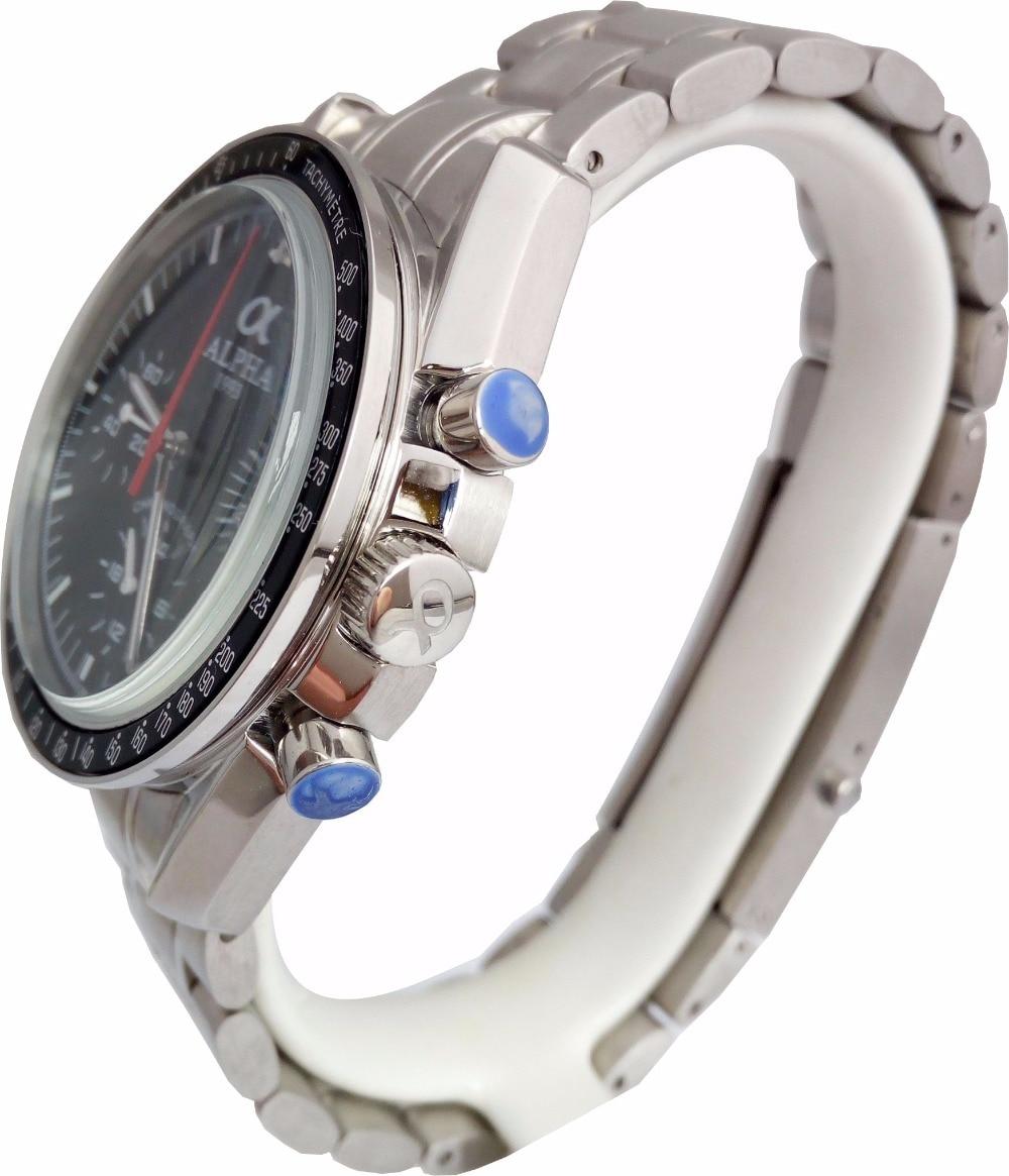 สตีล seagull chronograph นาฬิกา-ใน นาฬิกาข้อมือกลไก จาก นาฬิกาข้อมือ บน   1