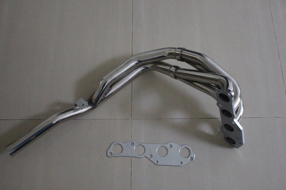 Stainless Steel Header For VW POLO 86C 1.0 1.3 Incl. G40 Manifold