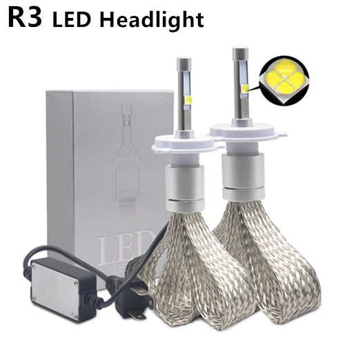 R3 H4 LED Phare
