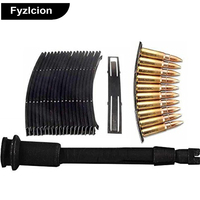 Fyzlcion Hunting Tactical AK SKS Loader Steel Stripper 10 Pieces 10 Round 7 62x39 Steel