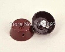 2PCS Micarta  electron vacuum anode tube plate caps for 807/FU7/6146B/FU25/310A/EF9/6*12C Tube FREE SHIPPING
