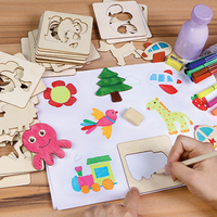 Baby Drawing Toys Set Coloring Board Children Creative Doodles Draw Toys Learn Education For Boy Girl