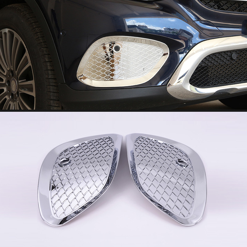 Automobiles & Motorcycles Trustful Rear Tail Light Lamp Cover 4pcs Decoration For Mercedes Benz Glc X205 2015 2016 Roof Racks & Boxes