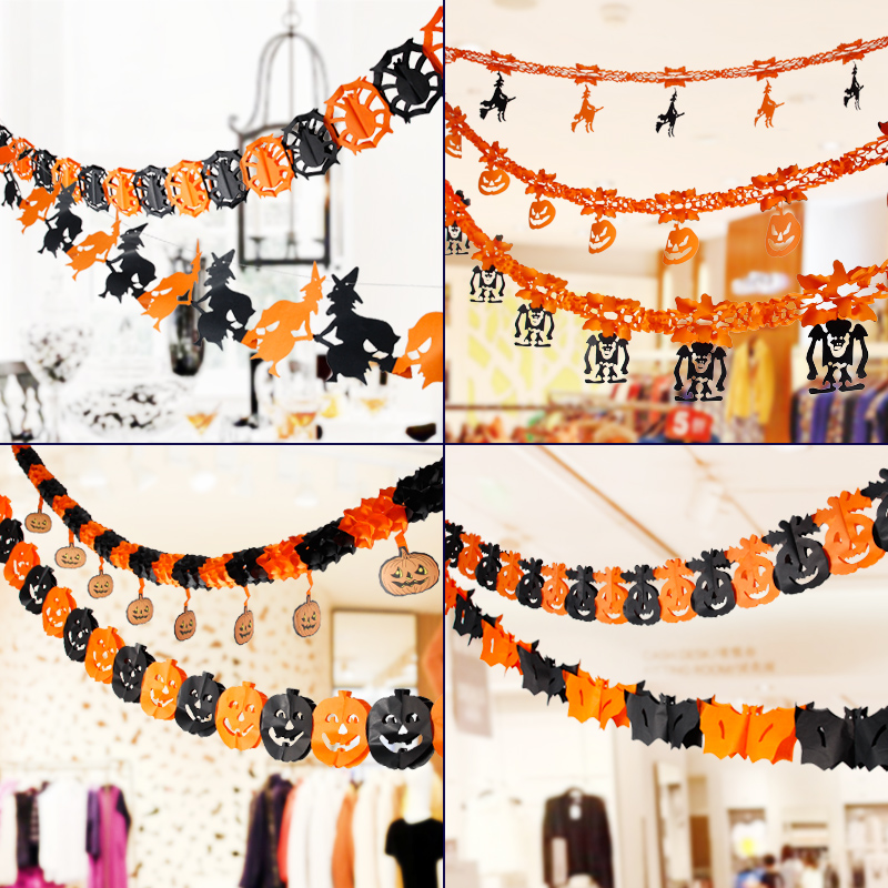 free shipping halloween decoration halloween haunted house bar scene layout props kito spider pumpkin halloween skeleton