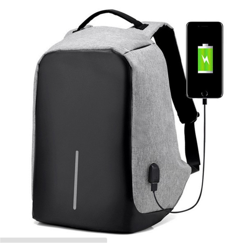 Hot men backpack 15.6-inch laptop bag with students multi-function casual best backpack men anti-thief usb charging bag