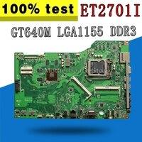 Original For ASUS mainboard ET2701I ET2701 desktop motherboard GT640M LGA1155 DDR3