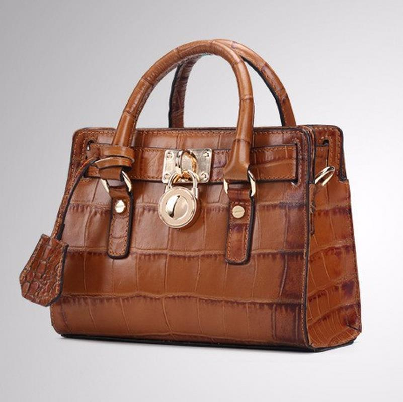 ФОТО Crocodile Cowhide Bags Vintage 2016 New Women Handbags Genuine Leather Bolsos Mujer Lady Brand Clutch Crocodile Cowhide Bags