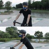 Открытый Велоспорт Половина уход за кожей лица маска от пыли, очки для велоспорта, солнцезащитные пыльцы, не вызывает аллергии, Door Mat фильтр ...