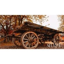 carrito madera RETRO VINTAGE