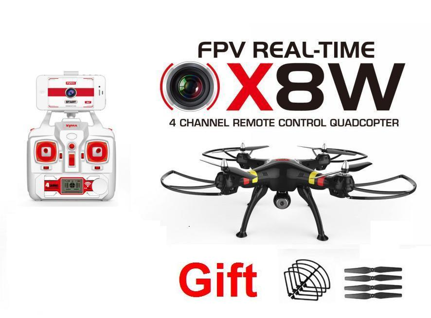gift Syma X8W 2.4G 4ch 6 Axis Venture with 2MP wifi FPV HD Camera RC Quadcopter RTF RC Helicopter RC drone free shipping crystal lux бра crystal lux luccila ap2 white