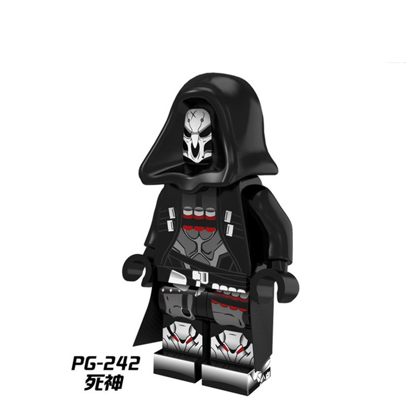 Single Sale Building Blocks PG242 Reaper Marvel Figures Super Heroes Avengers Star Wars Set Model Action Bricks Kids DIY Toys 1 way 1 gang crystal glass panel smart touch light wall switch remote controller white black 160 250v ac