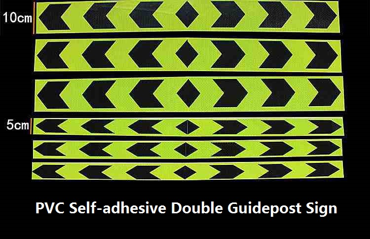 Road Traffic Van Truck Construction Site Corridor Factory Workshop Floor Safety Warning Self-adhesive Guide Reflective Tape