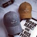 Ht812 fancy letras sonrisa snapback gorra de béisbol unisex de hip hop gorras gamuza Sombreros para Las Mujeres de Los Hombres Negro Marrón Gris Rosa Gorras de Béisbol