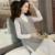 DRL Marca Primavera y otoño femenino más tamaño suéter prendas de vestir exteriores medio-largo Con Cuello En V chaleco suéter flojo femenino