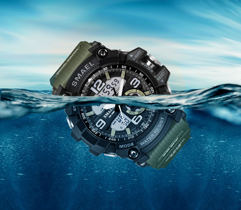 SMAEL SHOCK MILITARY WHATCH - watch