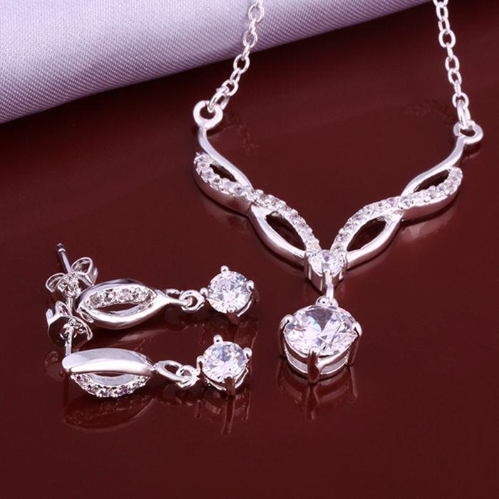silver plated jewelry set, fashion jewelry set Earring 509 Necklace 531   /dgoalxva dsgamjna LKNSPCS633
