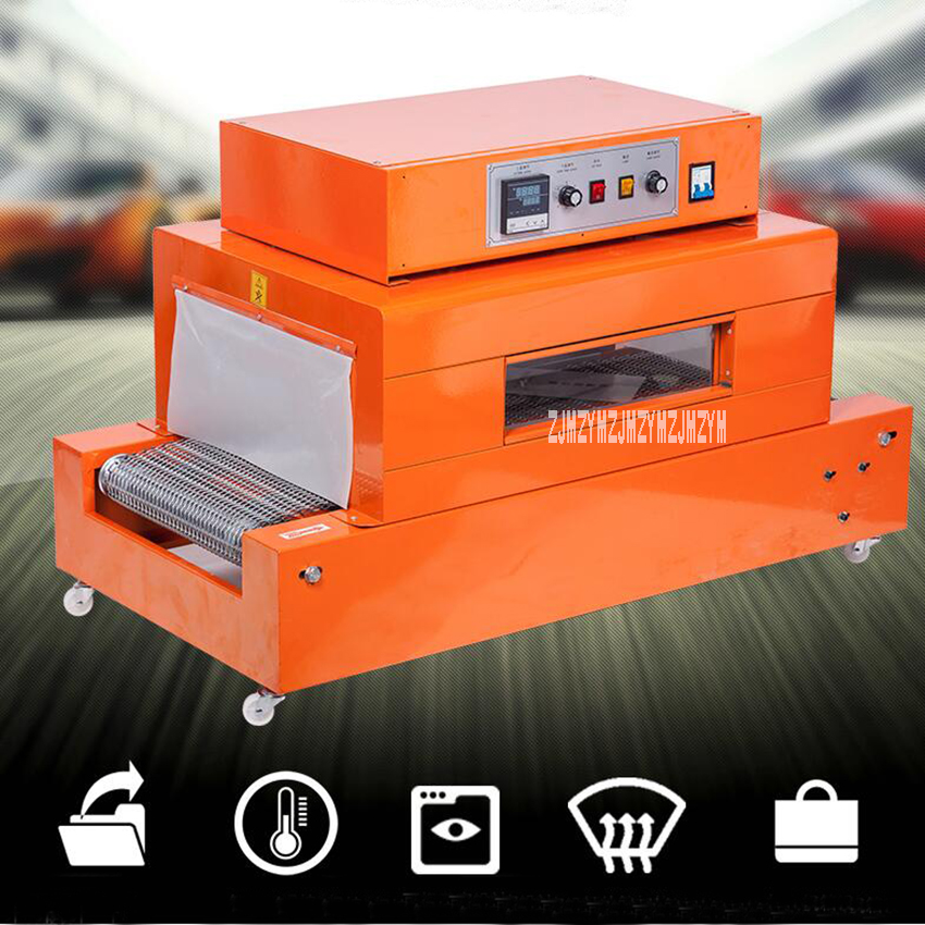 ZY 4020L Automatic Shrink Machine Small Film Shrink Tunnels Wrapping Tool For Sealing Machine PVC Film Shrinking Voltage 220V