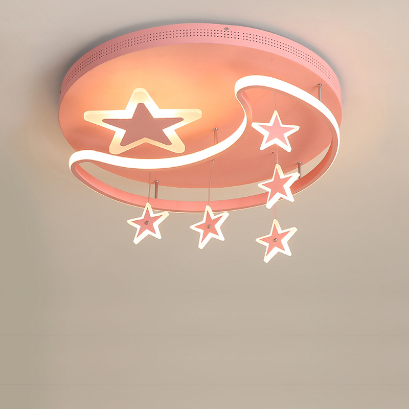 Modern Led Ceiling Light Kids Baby Room Light With Remote Control Lampara Techo Infantil Lamp Kids Room Abajur Infantil Lights