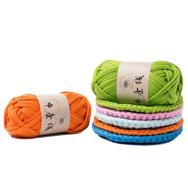 100gball Dicken Tuch Stoff Streifen Garn 100 Polyester Handwerk