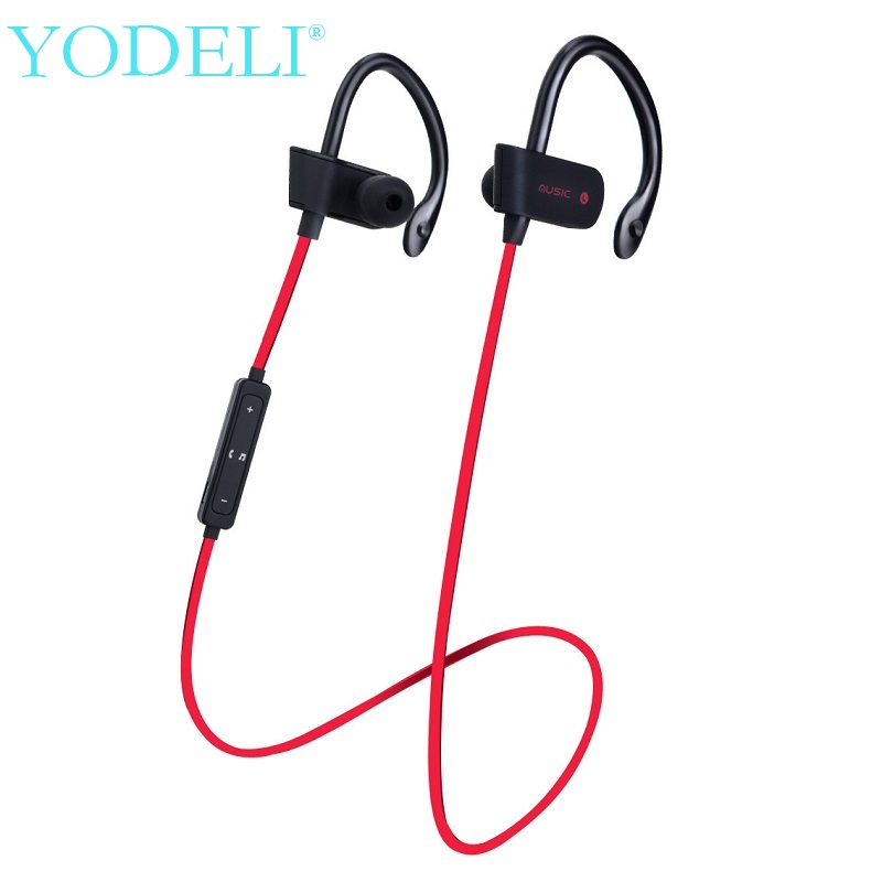 S4 Wireless Bluetooth Earphone Stereo Headset Sports Sweatproof Headphones with Mic Wireless Earbuds For iPhone X 8 8plus 7 7S 6