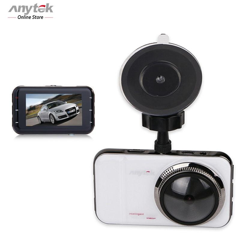 Anytek А1+ Автомобильный видеорегистратор 1080 р 30 кадров в секунду тире камерой 170 град полный HD Автомобильный видеорегистратор детектор G-сенсор автомобильный видеорегистратор Камара Nachtsicht Запись видео на USB