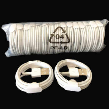 300PCS Compatible IOS11 charger mobile phone white 1M 3FT cable charger for iphone X 8 7 6 5 free shipping - SALE ITEM Cellphones & Telecommunications