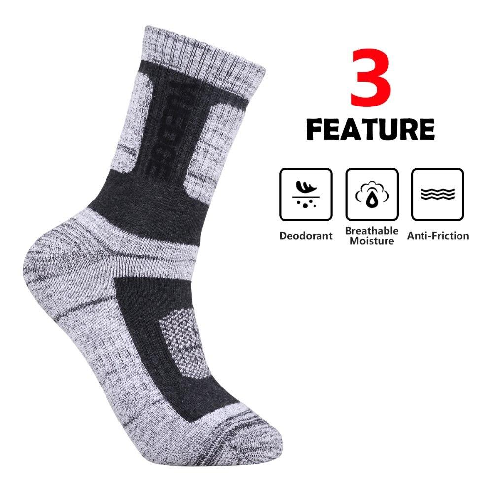 Yuedge masculino meias de algodão ao ar