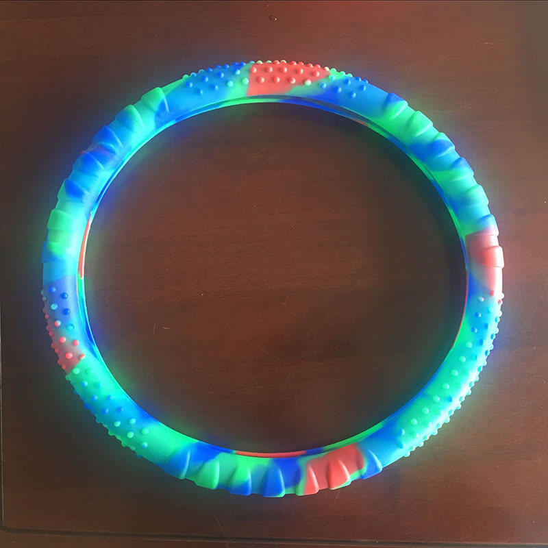 Car steering wheel sets multi color Mashup silicone steering wheel cover anti-skid ultra-thin waterproof and retractable soft