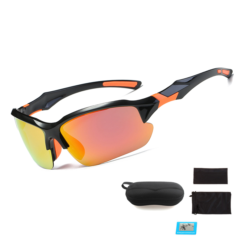Professional Polarized Cycling Glasses Bike Sunglasses Bicycle Goggles Outdoor Sports Eyewear Sunglasses UV 400 6 Color