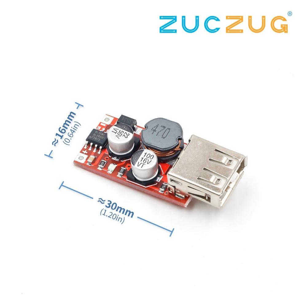Fine 6-24V 12V/24V To 5V 3A CAR USB Charger Module DC Buck Step Down Converter 12v 5v Power Supply Module
