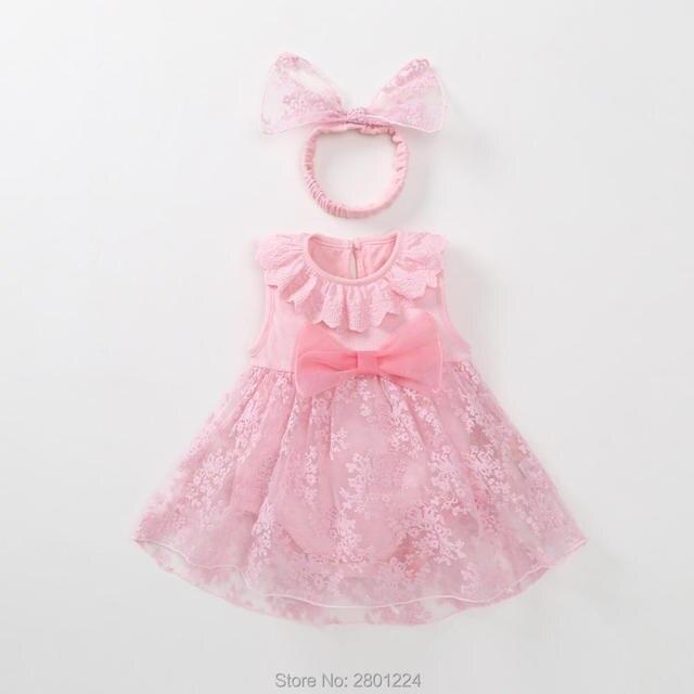 1 năm sinh nhật tuổi trang phục trẻ sơ sinh tutu vải tuyn bé cô gái mùa hè váy màu hồng đỏ trẻ sơ sinh công chúa dresses bé vestido