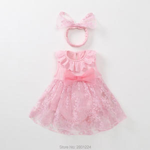 1 year birthday old outfits newborn tutu tulle baby girl summer dress red pink infant princess dresses baby vestido