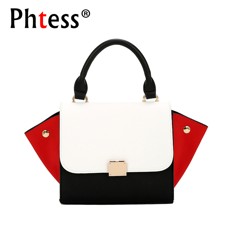 Small Trapeze Bag Women Leather Handbags Luxury Brand Bags 2018 Sac a Main Bag Female Shoulder Ladies Luxury Women Bags Designer luxury genuine leather bag female designer smiley trapeze ladies hand bags handbags women famous brands shoulder bags sac femme