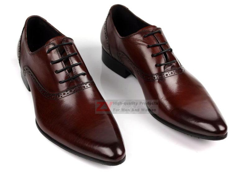 Aliexpress.com : Buy New Real leather Business men's dress shoes ...