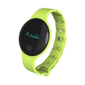 Image 5 - Fitness Tracker inteligentna bransoletka nadgarstek bluetooth passometer wiadomość przypomnienie o połączeniu kompatybilny dla android ios PkMi pasek