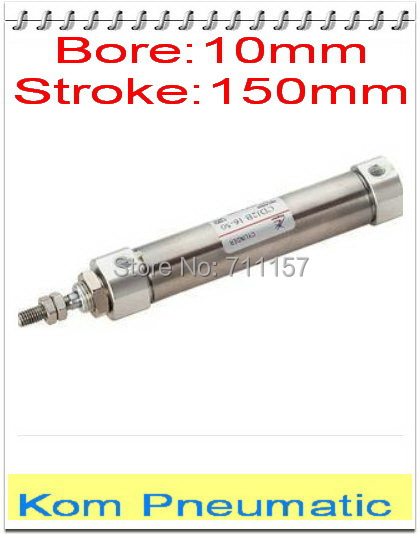 10mm bore 100mm Stroke cdj2b aire neumático Cilindro