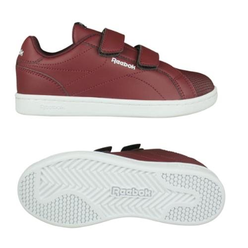 REEBOK Child shoes Unisex RBK ROYAL COMP, free and Time sportwear, maroon shirt