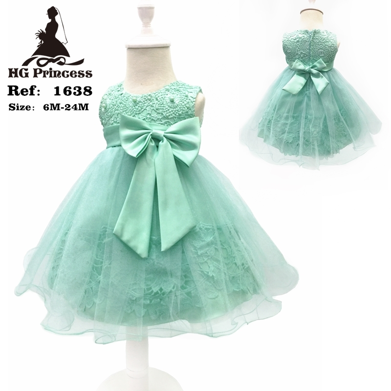 Free Shipping Cotton Lining 2T-12T Kids Party Dress 2018 New Arrival Flower Girl Dresses For Weddings Lolita Style Gown With Bow ems dhl free shipping 2017 new kids summer girl mask owl cat owlette cotton cloak dress wholesale