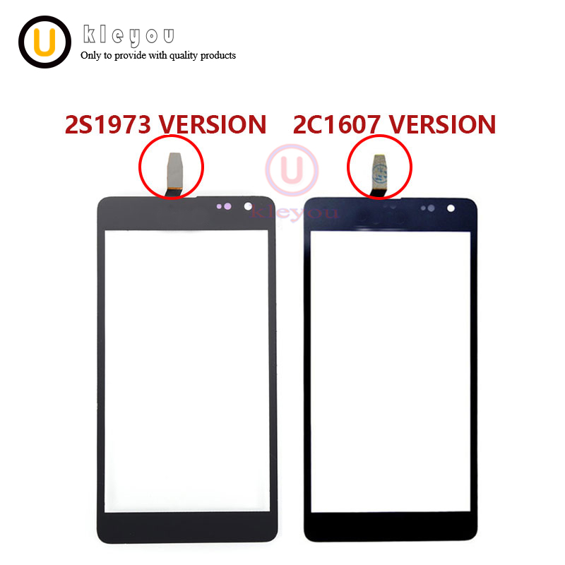 5.0'' For Nokia Microsoft Lumia 535 N535 CT2S1973 CT2C1607 Touch Digitizer Sensor Front Glass Panel Lens N535 Touch Screen Black