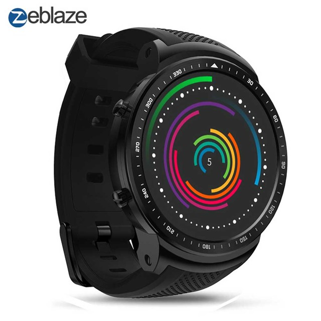 Zeblaze Thor Pro 3G SIM Smart Watch MT6580 Quad Core 16G ROM 500mAh Battery Bluetooth Calls GPS Wifi Watch For Android and IOS.