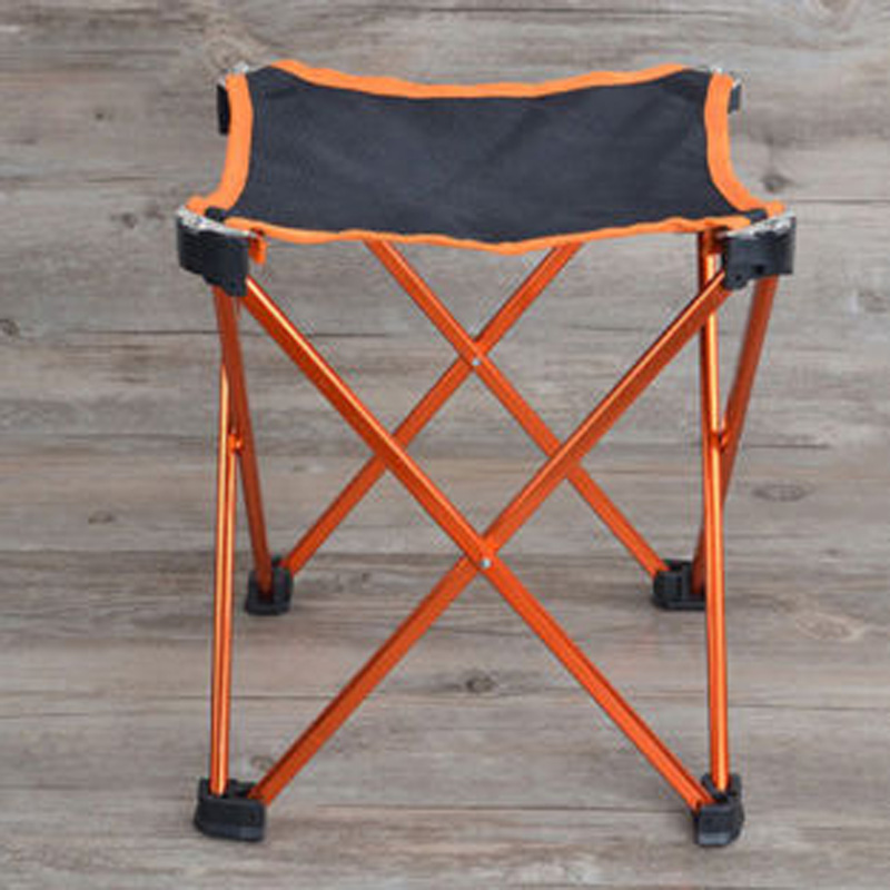 New Folding Stool Aluminium Alloy Mini Ultralight Portable Seat Outdoor Sport Camping Travel BBQ Fishing Chair