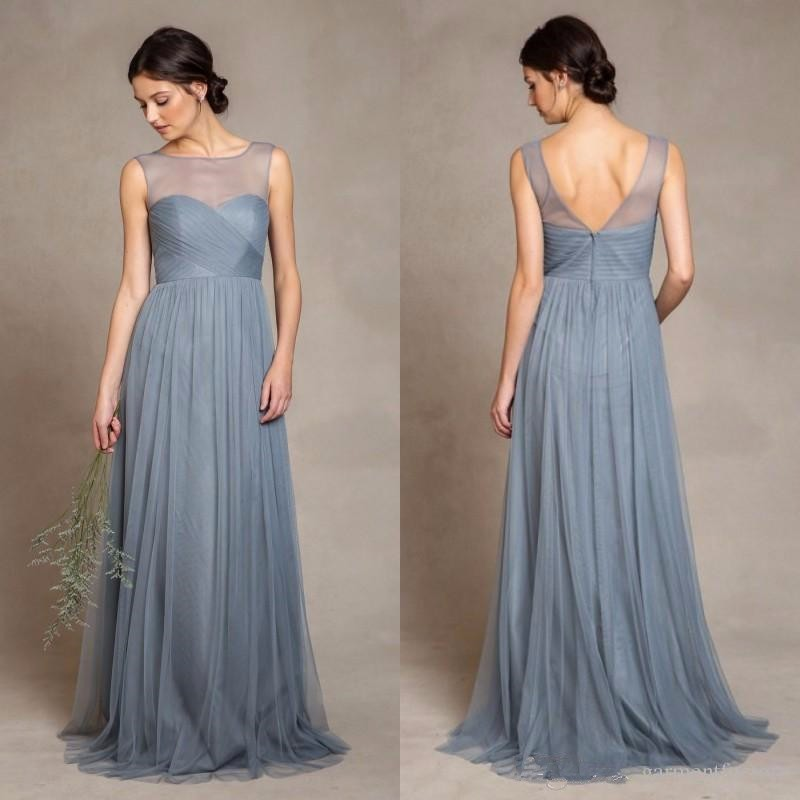 Detail Feedback Questions about 2019 Tull Elegant Dusty Blue Tulle ... fd60daaaf33d